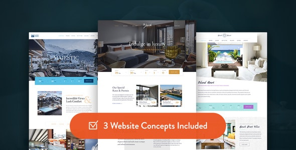 Haven - Hotel WordPress Theme - Travel Retail