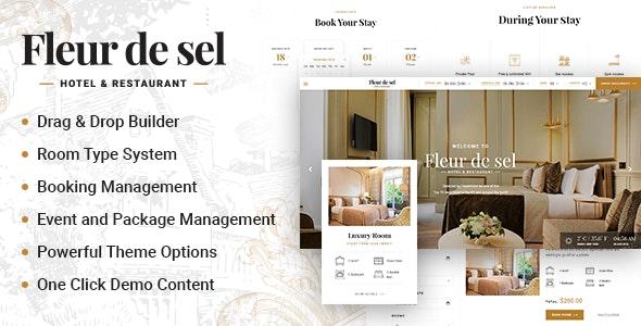 Fleurdesel - Hotel Booking WordPress Theme - Travel Retail