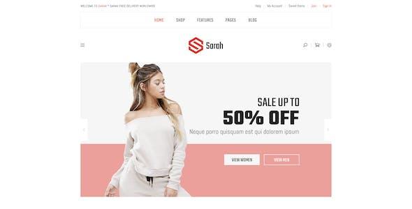 Minimalist Fashion Style BigCommerce Theme - Stencil Cornerstore based