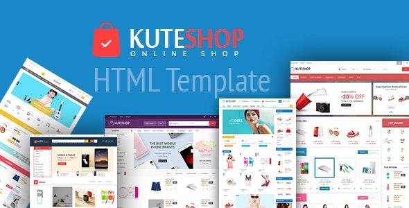 KuteShop Online - Multipurpose Ecommerce HTML Template - Retail Site Templates