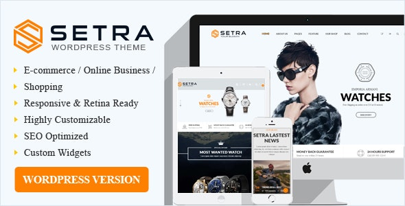 Setra WooCommerce WordPress Theme - WooCommerce eCommerce