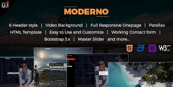 Modern - Responsive Multipurpose HTML Template - Business Corporate