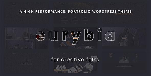 Eurybia - Creative Portfolio WP Theme - Creative WordPress