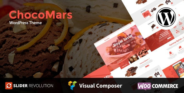 ChocoMars - Multi-Purpose WordPress Theme - WooCommerce eCommerce