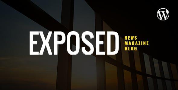 Exposed- News Magazine and Blog WordPress Theme