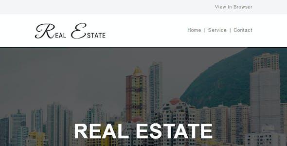 REAL ESTATE - Multipurpose Responsive Email Template