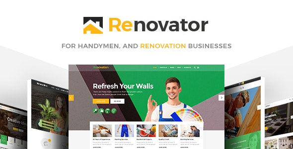 Renovator - Contractors and Renovation Business Theme by