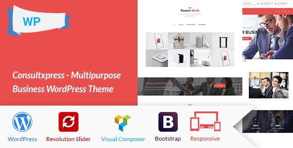 Consultxpress - Multipurpose Business WordPress Theme - Business Corporate