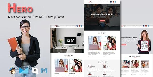 HERO - Multipurpose Responsive Email Template - Email Templates Marketing