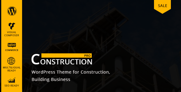 Constructionpro - WP Construction, Building Business - Business Corporate