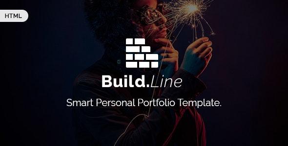 Buildline - Creative Minimal Portfolio HTML | Bootstrap 3 Template - Portfolio Creative