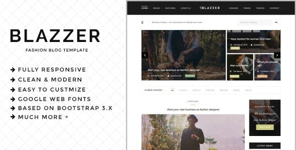 Blazzer - Personal/Fashion Blog HTML5 Template - Fashion Retail