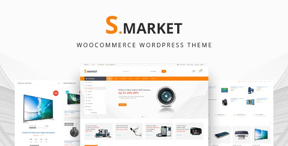 Smarket -  Electronics & Marketplace Multipurpose WooCommerce Theme - WooCommerce eCommerce