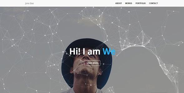 Creative-Personal Portfolio Template - Personal Site Templates