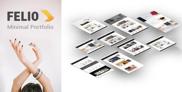 Felio - Portfolio PSD Template - Portfolio Creative