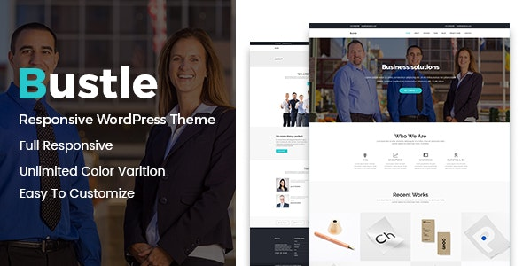 Bustle - Corporate WordPress Theme - Business Corporate