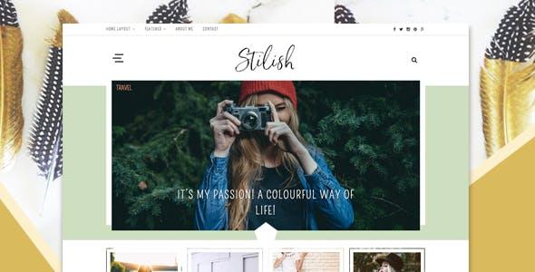 Stilish - Responsive WordPress Blog Theme