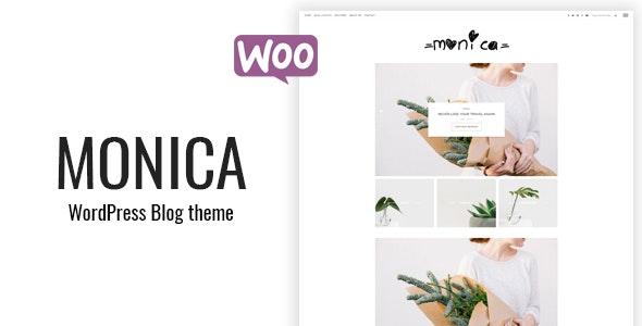 Monica - Personal & Shop WordPress Blog Theme - Personal Blog / Magazine