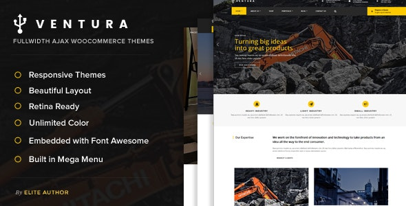 Ventura - Industrial WordPress Theme - Business Corporate