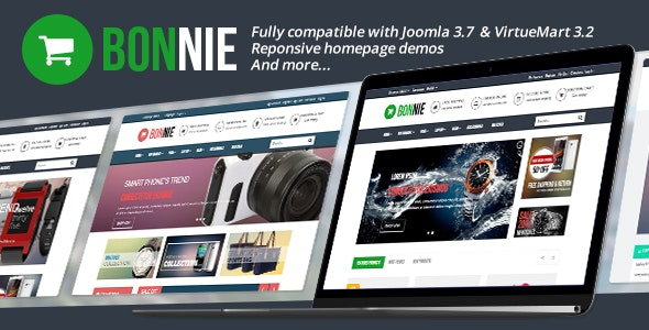 Vina Bonnie - Responsive Multipurpose VirtueMart Template - Fashion Retail
