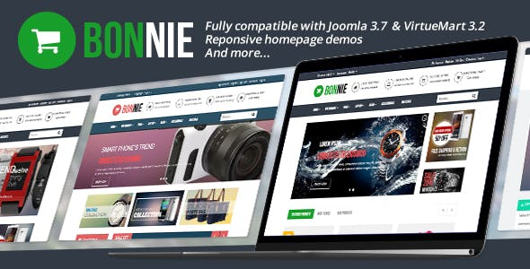 Vina Bonnie - Responsive Multipurpose VirtueMart Template