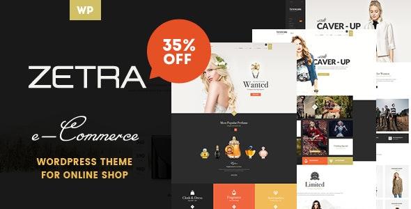 Zetra - A WordPress Theme for eCommerce Websites - WooCommerce eCommerce