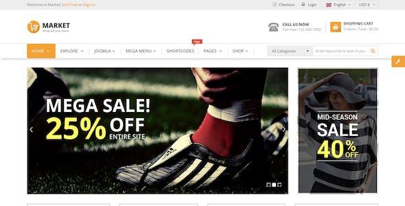 Market - Multipurpose eCommerce HTML Template