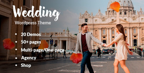 Wedding - Responsive Wedding Theme - Wedding WordPress