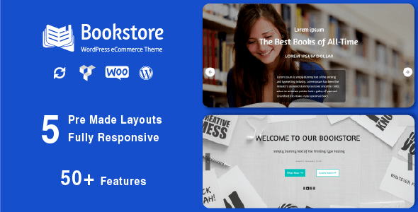 Book Store - Responsive WooCommerce Theme