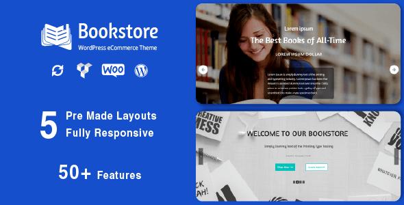 Bookstore - Responsive WooCommerce Theme