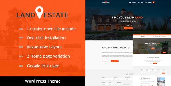 Land Estate - Real Estate WordPress Theme