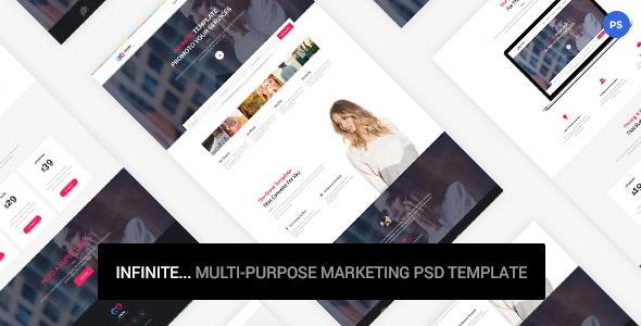 Infinite - Marketing PSD Template - Marketing Corporate
