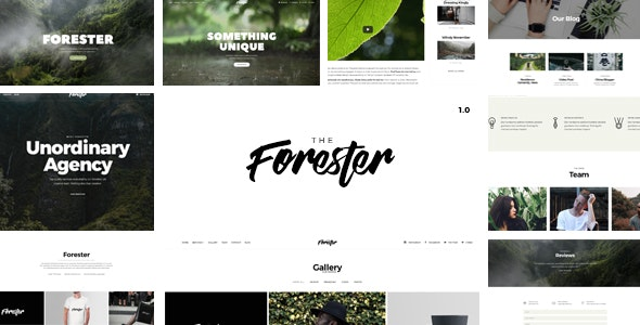The Forester - Responsive Multi-Purpose HTML5 Template - Creative Site Templates
