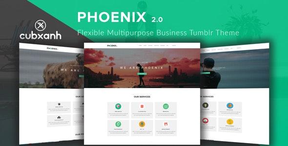 Phoenix - Flexible Multipurpose Business Tumblr Theme - Business Tumblr