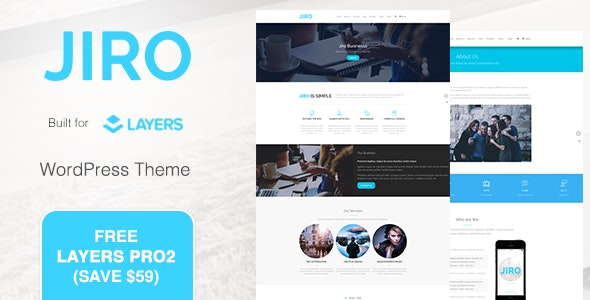 JIRO | MultiPurpose Business WordPress Theme - Business Corporate