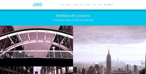 JIRO | MultiPurpose Business WordPress Theme
