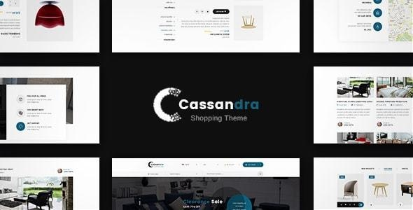 Cassandra - Furniture Commerce - Miscellaneous Muse Templates