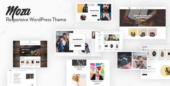 Moza - Minimal WooCommerce WordPress Theme