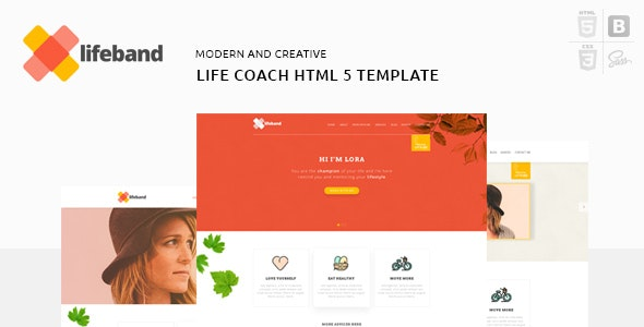 Lifeband - Coaching Business Responsive HTML5 Template - Business Corporate