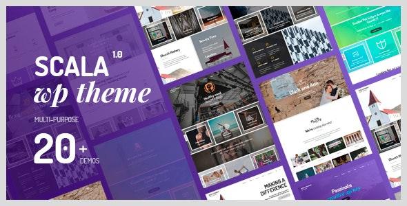 Scala - Multipurpose Theme - Business Corporate