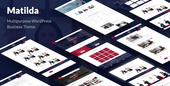 Matilda - Multipurpose WordPress Business Theme - Business Corporate
