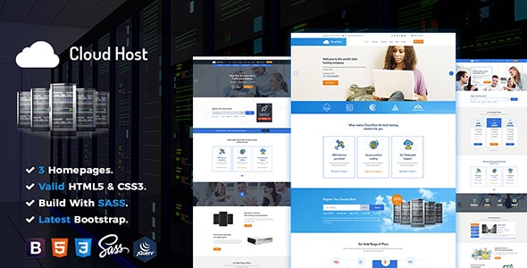 Cloud Host - Hosting Domain - Hosting Technology