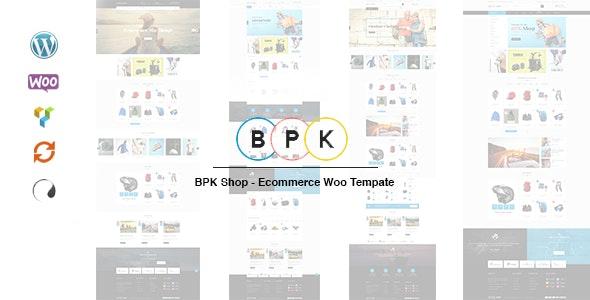 BPK Shop - WooCommerce Responsive  Theme - WooCommerce eCommerce