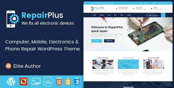 Repair Plus - Electronics and Phone WordPress Theme - Business Corporate