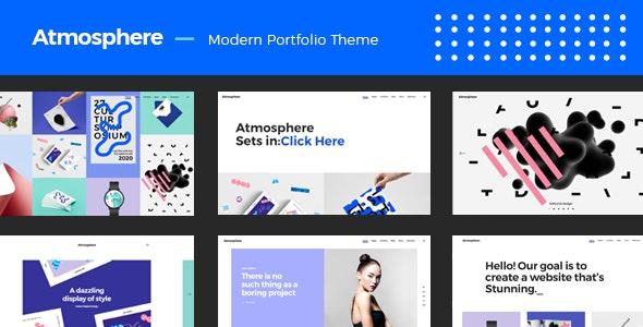 Atmosphere - Bold Portfolio Theme - Portfolio Creative