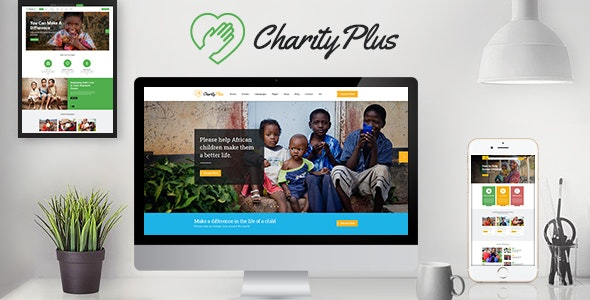 CharityPlus - Multipurpose Nonprofit Charity Organization HTML5 Template - Charity Nonprofit