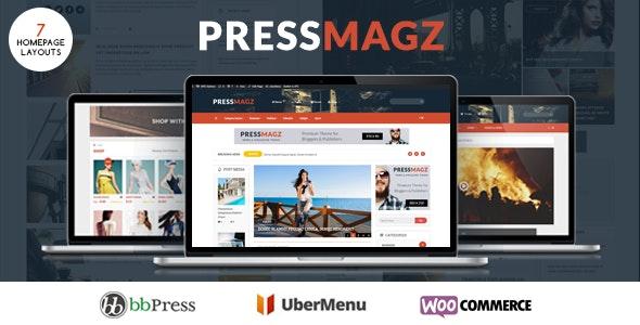 PresssMagz - Editorial News & Magazine WordPress Theme - News / Editorial Blog / Magazine