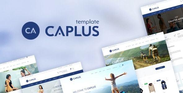 Caplus Responsive Multi-Purpose HTML5 Template - Site Templates