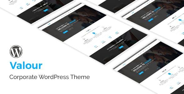 Valour - Business  WordPress Theme