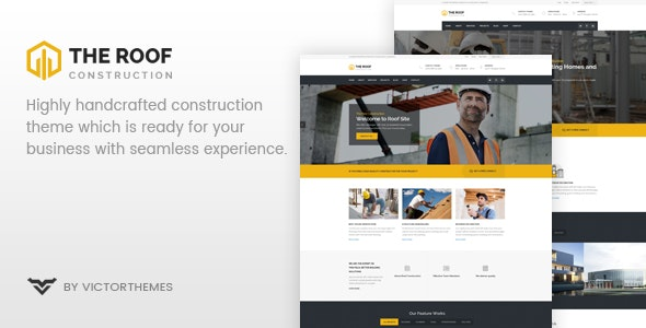Roof - WP Construction, Building Business - Business Corporate
